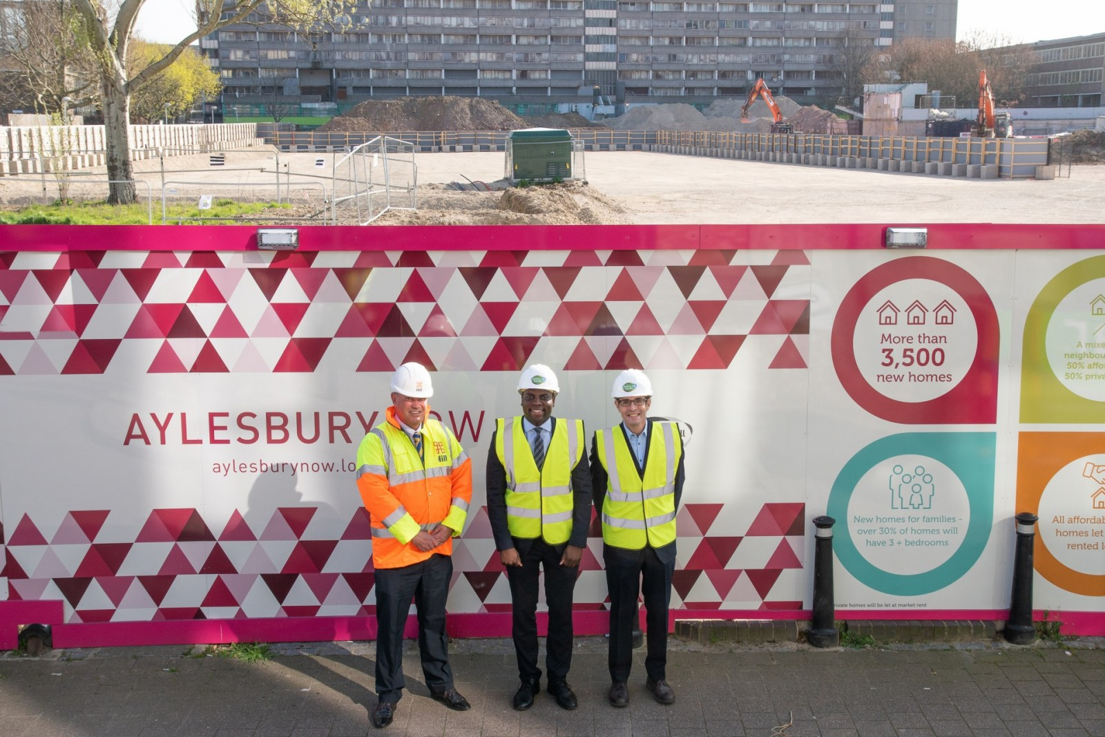 BUILDER APPOINTED TO PROVIDE NEW HOMES ON AYLESBURY ESTATE Picture 1